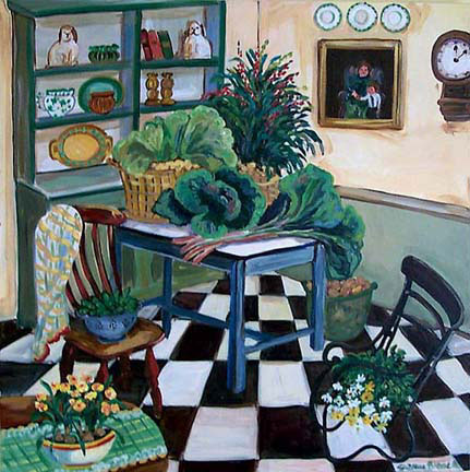Irish Kitchen by Suzanne Etienne