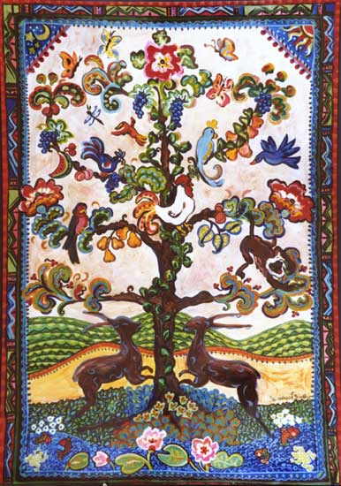 """Tree of Life"" by Suzanne Etienne"